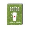 Artehouse LLC Coffee Wood Sign