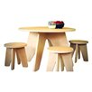 Sodura Kids Areo 3 Piece Table & Stool Set