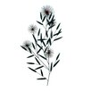 <strong>Malibu Creations</strong> Midtown Chic Dandelion Wish Wall Décor