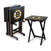 <strong>Imperial</strong> NHL TV Trays with Stand (Set of 4)