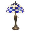 "Imperial NFL 24"" H Table Lamp with Bowl Shade"