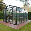 "Rion Greenhouses Grand Gardener 2 Twin Wall 8' 9"" H x 7' 9"" W x 12' 9"" D Polycarbonate 4 mm Greenhouse"