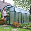 "Rion Greenhouses EcoGrow 2 Twin Wall 6' 4"" H x 6' 5"" W x 12' 6"" D Polycarbonate 4 mm Greenhouse"