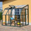 Rion Greenhouses Sun Lounge 2 6.5 Ft. W x 8.5 Ft. D Polycarbonate Greenhouse