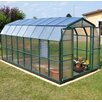 "Rion Greenhouses Prestige 2 Twin Wall 7' 9"" H x 8' 9"" W x 20' 7"" D Polycarbonate 4 mm Greenhouse"
