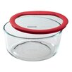 Pyrex Premium Glass Lids 7 Cup Round Storage Dish