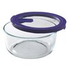 Pyrex No Leak Lids 7-Cup Round Storage Bowl
