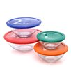 <strong>Smart Essentials 8 Piece Mixing Bowl with Colored Lid Set</strong> by Pyrex