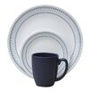 <strong>Corelle</strong> Livingware™ Folk Stitch 16 Piece Dinnerware Set