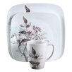 <strong>Corelle</strong> Square™ Twilight Grove 16 Piece Dinnerware Set