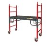 Metaltech 6.33' H x 6.31' W x 2.58' D Buildman Series Heavy Duty Baker Scaffold