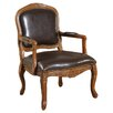 Williams Import Co. Napoleon Bicast Leather Arm Chair