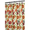 Prints Polyester Botanical Garden Shower Curtain