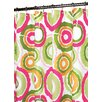 <strong>Watershed</strong> Prints Polyester Groovy Circles Shower Curtain
