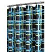 <strong>Watershed</strong> Prints Polyester Wavy Plaid Shower Curtain