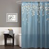 Special Edition by Lush Decor Flower Drop Polyester Shower Curtain