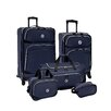 <strong>Beverly Hills Country Club</strong> San Vincente 5 Piece Luggage Set