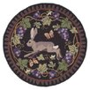 <strong>Claire Murray Wine Country Bunny Novelty Rug</strong> by Claire Murray
