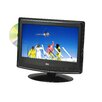 "Arrowmounts QFX 13.3"" 12V HD LED AC/DC Widescreen ATSC Digital TV with DVD"