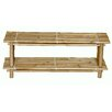 Bamboo54 Natural Bamboo Shoe Rack (Set of 2)