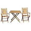 <strong>Bamboo54</strong> 3 Piece Bistro Set
