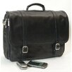 Tuscan Executive Laptop Briefcase in Black