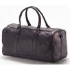 "<strong>Clava Leather</strong> Vachetta Barrel 19"" Leather Carry-On Duffel"