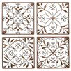 <strong>UMA Enterprises</strong> 4 Piece Toscana Wall Décor Set (Set of 4)