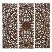 UMA Enterprises 3 Piece Toscana Carved Wall Décor Set (Set of 3)