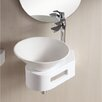 <strong>Ceramica II Vessel Bathroom Sink with Thin Wall</strong> by Caracalla
