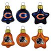 <strong>6 Piece NFL Ornament Set</strong> by Topperscot