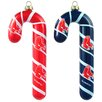 Topperscot MLB Blown Candy Cane (Set of 2)