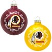 <strong>Topperscot</strong> NFL Home and Away Glass Ornament Set (Set of 2)