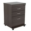 Inval Uffici Commercial 3-Drawer File and Storage Cabinet