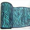 Vickerman Co. Lame Velvet Zebra Ribbon