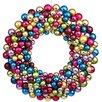 Vickerman Co. Colored Ball Wreath