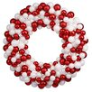 Vickerman Co. Colored Ball Wreath