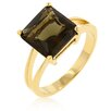 <strong>Kate Bissett</strong> Smokey Topaz Solitaire Ring