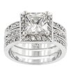 Kate Bissett Clear Cubic Zirconia Engagement Ring