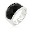 Kate Bissett Imitation Onyx Surprise Cocktail Ring
