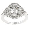 Kate Bissett Clear Cubic Zirconia Engagement Delight Ring