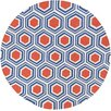 Jill Rosenwald Fallon Blue/Red Area Rug