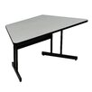 "Correll, Inc. Desk Height High-Pressure 60"" W x 29"" D Computer and Training Table"