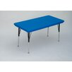 <strong>Correll, Inc.</strong> Rectangular Plastic Activity Table with Standard Legs
