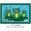 Fun Rugs Fun Time Frogs Kids Rug