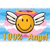 Fun Rugs Smiley World Smiley Angel Area Rug