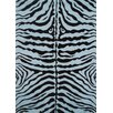 <strong>Fun Time Blue Zebra Skin Kids Rug</strong> by Fun Rugs