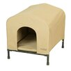 Heininger Holdings LLC PortablePET Fabric and Steel Collapsible Yard Kennel