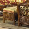 <strong>Coco Cay Ottoman</strong> by Boca Rattan