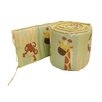 Little Bedding by NoJo Safari Kids Traditional Padded Bumper